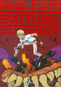 Copertina BATTLING BOY (m2) n.1 - BATTLING BOY, BAO PUBLISHING