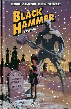 Copertina BLACK HAMMER n.2 - L'EVENTO, BAO PUBLISHING