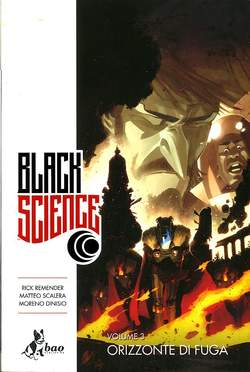 Copertina BLACK SCIENCE (m9) n.3 - ORIZZONTE DI FUGA, BAO PUBLISHING