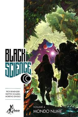 Copertina BLACK SCIENCE (m9) n.4 - MONDO NUME, BAO PUBLISHING