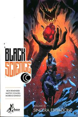 Copertina BLACK SCIENCE (m9) n.5 - SINCERA ESPIAZIONE, BAO PUBLISHING