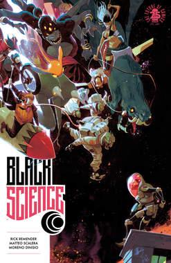 Copertina BLACK SCIENCE (m9) n.7 - L'ESTINZIONE E' LA REGOLA, BAO PUBLISHING