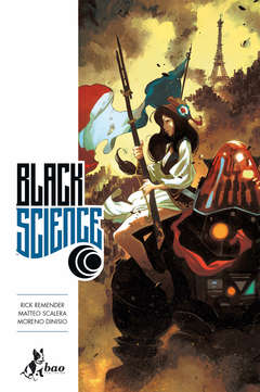 Copertina BLACK SCIENCE (m9) n.8 - PIU' TARDI DEL PREVISTO, BAO PUBLISHING