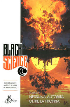 Copertina BLACK SCIENCE (m9) n.9 - BLACK SCIENCE, BAO PUBLISHING