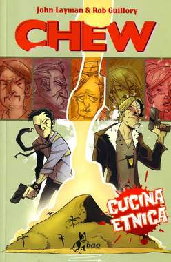 Copertina CHEW n.2 - CUCINA ETNICA, BAO PUBLISHING