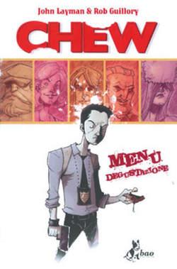 Copertina CHEW n.1 - MENU' DEGUSTAZIONE, BAO PUBLISHING