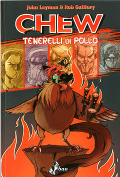 Copertina CHEW n.9 - TENERELLI DI POLLO, BAO PUBLISHING
