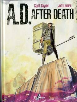 Copertina A.D. AFTER DEATH n. - A.D. - AFTER DEATH, BAO PUBLISHING