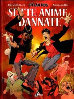 Copertina DYLAN DOG SETTE ANIME...Var. n.0 - SETTE ANIME DANNATE - Variant Cover di MASTANTUONO, BAO PUBLISHING