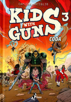 Copertina KIDS WITH GUNS n.3 - CODA, BAO PUBLISHING