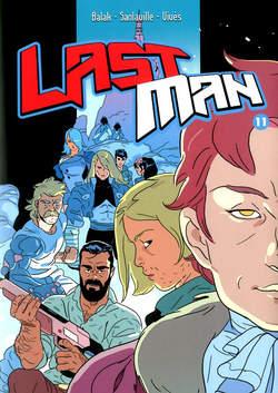 Copertina LAST MAN n.11 - LAST MAN, BAO PUBLISHING
