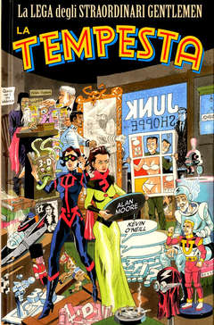 Copertina LEGA STRAORD.GENTL.TEMPESTA NE n. - LA TEMPESTA - New Edition, BAO PUBLISHING