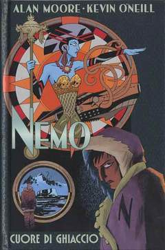Copertina NEMO (m3) n.1 - CUORE DI GHIACCIO, BAO PUBLISHING