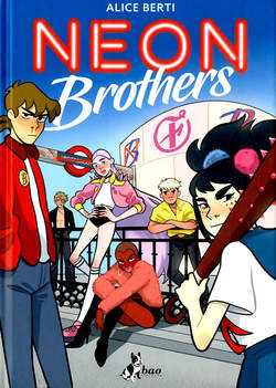Copertina NEON BROTHERS n. - NEON BROTHERS, BAO PUBLISHING