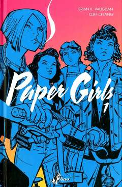 Copertina PAPER GIRLS (m6) n.1 - PAPER GIRLS, BAO PUBLISHING