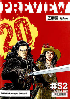 Copertina PREVIEW n.52 - PREVIEW, BAO PUBLISHING