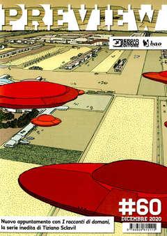 Copertina PREVIEW n.60 - DICEMBRE 2020, BAO PUBLISHING