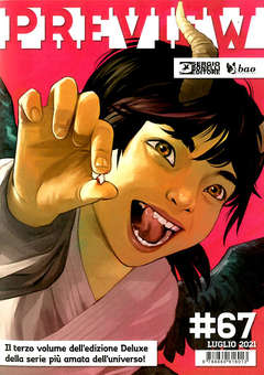 Copertina PREVIEW n.67 - PREVIEW                     67, BAO PUBLISHING