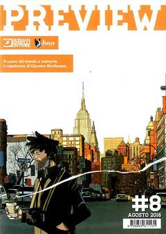 Copertina PREVIEW n.8 - PREVIEW                      8, BAO PUBLISHING