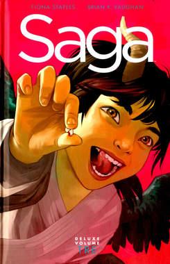 Copertina SAGA Deluxe n.3 - SAGA Deluxe, BAO PUBLISHING