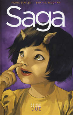 Copertina SAGA Deluxe n.2 - SAGA 4/6, BAO PUBLISHING