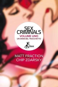 Copertina SEX CRIMINALS n.1 - SEX CRIMINALS, BAO PUBLISHING