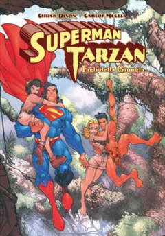 Copertina SUPERMAN, TARZAN n.0 - SUPERMAN-TARZAN: FIGLI DELLA GIUNGLA, BAO PUBLISHING