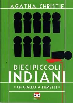 Copertina 10 PICCOLI INDIANI n.0 - DIECI PICCOLI INDIANI, BD EDIZIONI