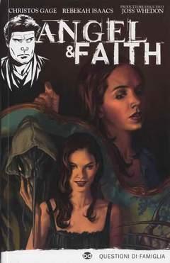 Copertina ANGEL & FAITH n.2 - QUESTIONI DI FAMIGLIA, BD EDIZIONI