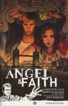 Copertina ANGEL & FAITH n.1 - SOPRAVVIVERE, BD EDIZIONI