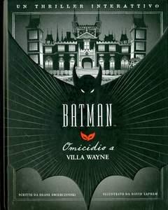 Copertina BATMAN OMICIDIO A VILLA WAYNE n.0 - OMICIDIO A VILLA WAYNE, BD EDIZIONI