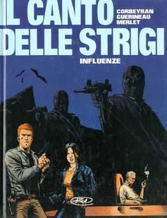 Copertina CANTO DELLE STRIGI n.3 - INFLUENZE, BD EDIZIONI