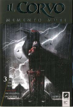 Copertina CORVO MEMENTO MORI #1 Variant n.3 - Variant Cover di ROBERTO RECCHIONI, BD EDIZIONI