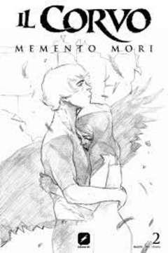 Copertina CORVO MEMENTO MORI #2 Variant n.3 - Variant Sketch Cover di WERTHER DELL'EDERA, BD EDIZIONI