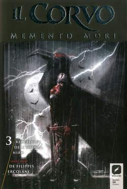 Copertina CORVO MEMENTO MORI #3 Variant n.1 - Variant Cover B di DAVIDE FURNO', BD EDIZIONI