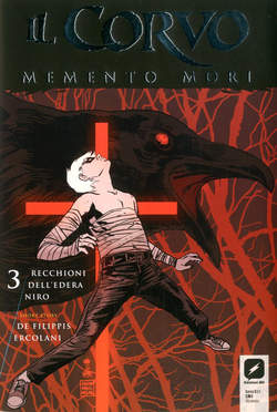 Copertina CORVO MEMENTO MORI #3 Variant n.2 - Variant Cover C di FRANCESCO FRANCAVILLA, BD EDIZIONI