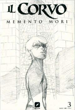 Copertina CORVO MEMENTO MORI #3 Variant n.3 - Variant Sketch Cover di WERTHER DELL'EDERA, BD EDIZIONI