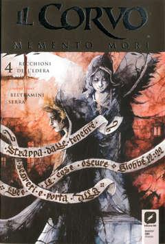 Copertina CORVO MEMENTO MORI #4 Variant n.2 - Variant Cover C di DANIELE SERRA, BD EDIZIONI