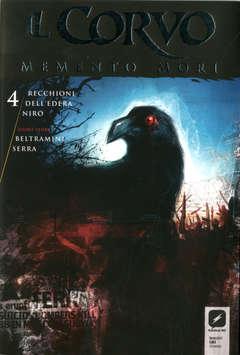Copertina CORVO MEMENTO MORI #4 Variant n.1 - Variant Cover B di DAVIDE FURNO', BD EDIZIONI