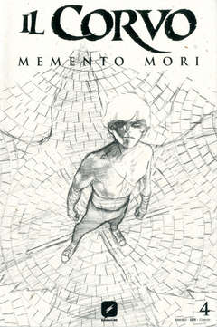 Copertina CORVO MEMENTO MORI #4 Variant n.3 - Variant Sketch Cover di WERTHER DELL'EDERA, BD EDIZIONI
