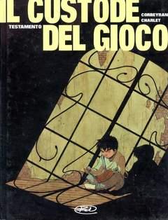 Copertina CUSTODE DEL GIOCO n.1 - TESTAMENTO, BD EDIZIONI