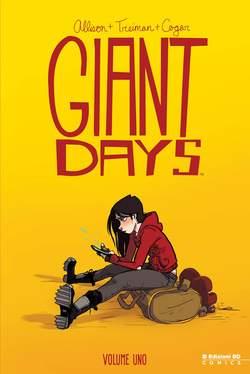 Copertina GIANT DAYS n.1 - GIANT DAYS, BD EDIZIONI