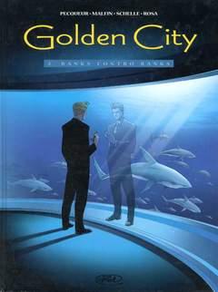 Copertina GOLDEN CITY n.2 - BANKS CONTRO BANKS, BD EDIZIONI