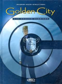 Copertina GOLDEN CITY n.5 - DOSSIER HARRISON, BD EDIZIONI
