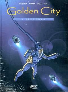 Copertina GOLDEN CITY n.3 - NOTTE POLARE, BD EDIZIONI