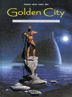Copertina GOLDEN CITY n.1 - PREDATORI DI RELITTI, BD EDIZIONI