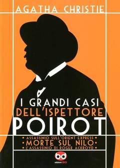 Copertina GRANDI CASI ISPETTORE POIROT n.0 - MORTE SUL NILO, BD EDIZIONI