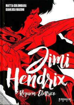 Copertina JIMI HENDRIX n.0 - JIMI HENDRIX, BD EDIZIONI