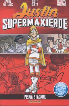 Copertina JUSTIN SUPERMAXIEROE n.0 - JUSTIN SUPERMAXIEROE, BD EDIZIONI