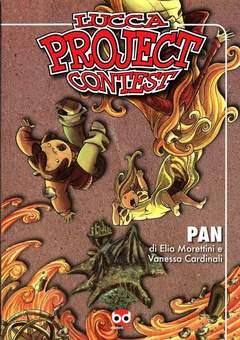 Copertina LUCCA PROJECT CONTEST n.1 - 2009 - PAN, BD EDIZIONI